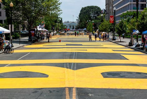 Vote for Pennsylvania Avenue Black Lives Matter Street