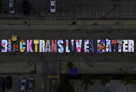 Vote for Black Trans Lives Matter